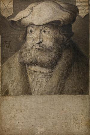 Portrait of Frederick III, Elector of Saxony (1463-152), C. 1525