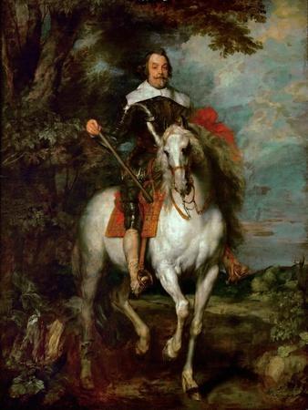 Equestrian Portrait of Francisco De Moncada, Marquis of Aytona and Count of Ossuna