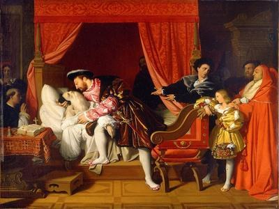 Francis I Receives the Last Breaths of Leonardo Da Vinci