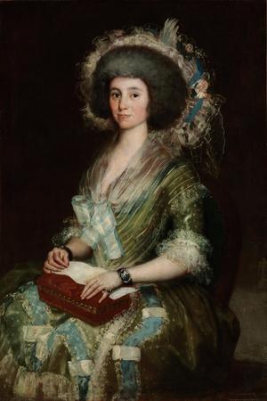 Portrait of Doña Manuela Camas, the Wife of Ceán Bermúdez