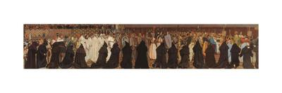 The Funeral of Charles the Good, in Bruges, on April 22, 1127