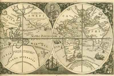 Title Page of Americae Pars VIII