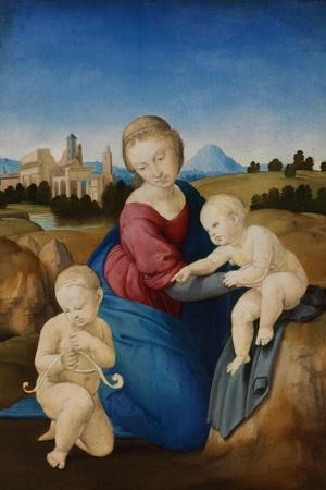 The Madonna and Child with the Infant Baptist (The Esterházy Madonn)