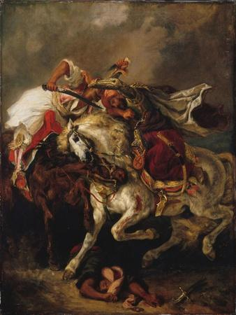 The Combat of the Giaour and the Pasha