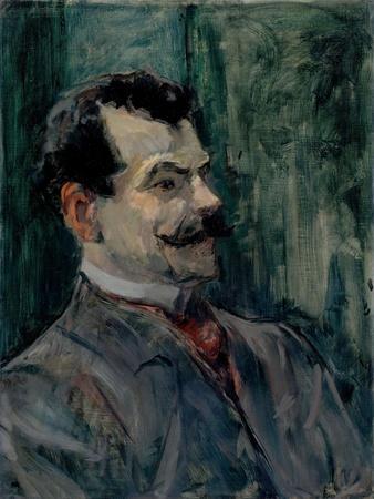 Portrait of André Rivoire (1872-193)