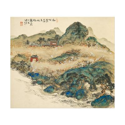 Mount Penglai (Mountain of Immortal), 1924