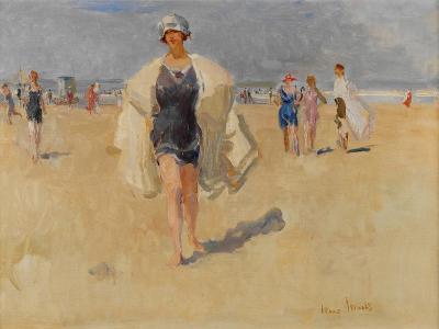 Lady on the Beach at Viareggio
