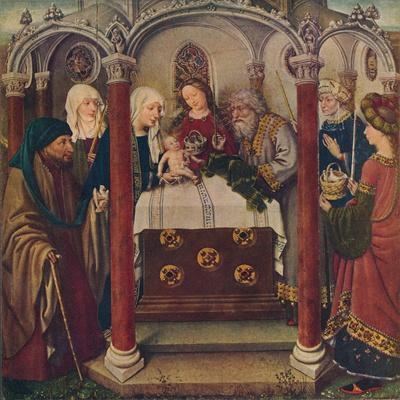 An Altar-Piece by the Maitre De Flemalle, 1907