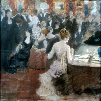 The Salon of Princess Mathilde