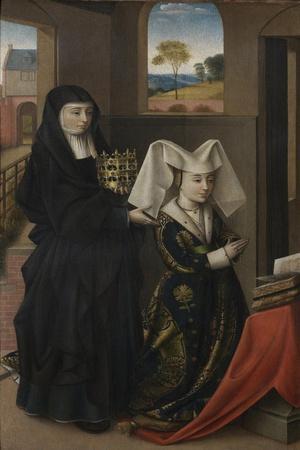 Isabel of Portugal with Saint Elizabeth, 1457-1460