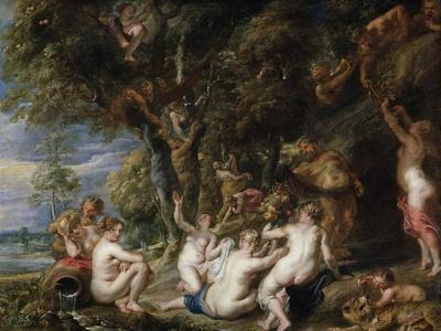 Nymphs and Satyrs, C. 1615