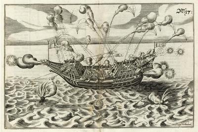 Illustration from Architectura Navalis Von J. Furttenbach