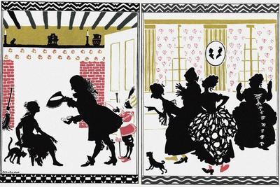 Illustration for Fairy Tale Cinderella