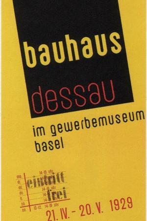 Bauhaus, 1929