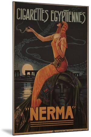 Egyptian Cigarettes Nerma, 1924