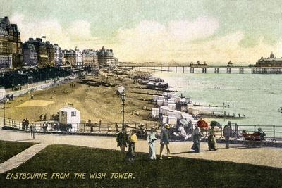 Eastbourne from the Wish Tower, Sussex, Early 20th Century
