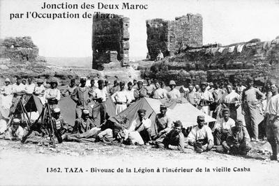 The Camp of the Foreign Legion, Taza, Morocco, 1904