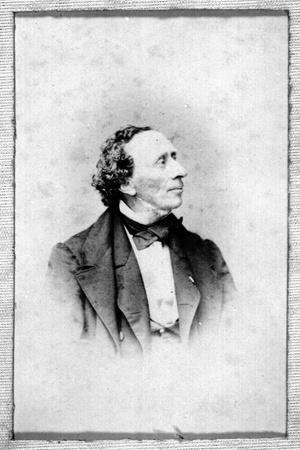 Portrait of Hans Christian Andersen (1805-187)