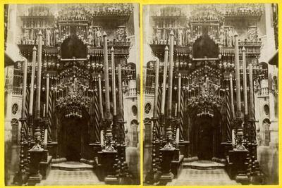 The Holy Sepulchre, Jerusalem, Palestine, 1900s