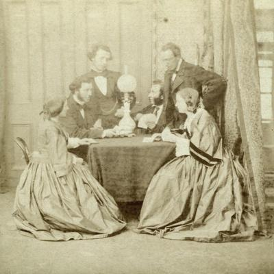 A Game of Cards, 19th Century