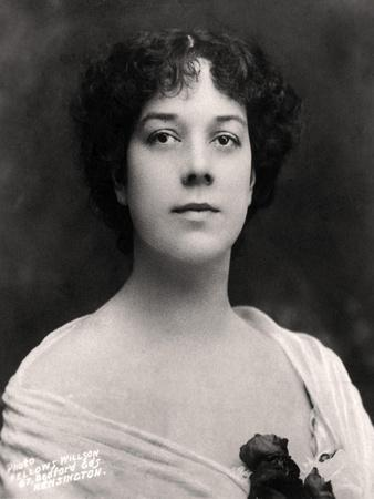 Clara Ellen Butt (1872-193), English Contralto, Early 20th Century