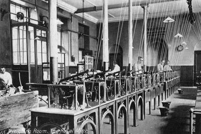 The Weighing Room, the Royal Mint, Tower Hill, London, 20th Century