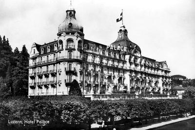 The Palace Hotel, Lucerne, Switzerland, Early 20th Century