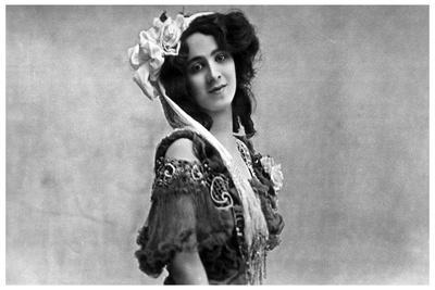 Daisy Jerome, Music Hall Actress, C1890-1919