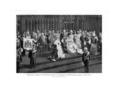 Wilhelmina of the Netherlands, (1880-196), (5 July 189), 1900