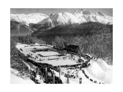 The 1948 Winter Olympics in St. Moritz