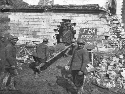 French Field Hospital Near Moreuil, Picardy, France, 1918