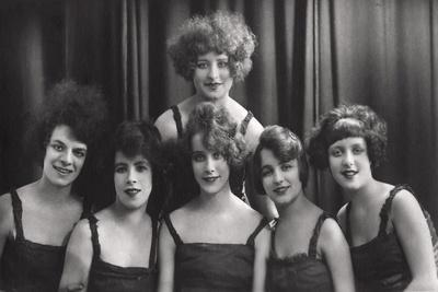 A Dance or Theatre Group, C1900-1929