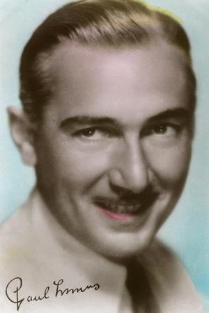 Paul Lukas (1895-197), Hungarian Actor, C1930S