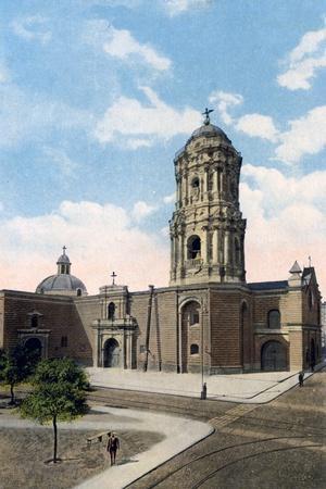 Santo Domingo Church and Monastery, Lima, Peru, Early 20th Century