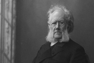 Portrait of Henrik Ibsen (1828-190)