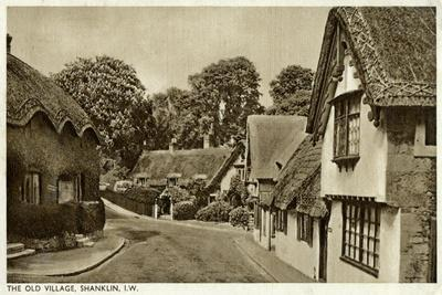 The Old Village, Shanklin, Isle of Wight, 20th Century