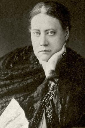 Author and Founder of Theosophy Helena Blavatsky (1831-189), 1860S