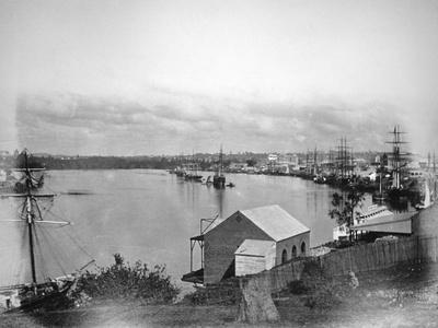 Brisbane River, South-East Queensland, Australia, 1870-1880