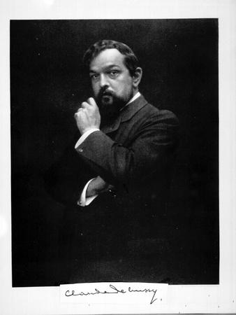 Portrait of the Composer Claude Debussy (1862-191), 1900s