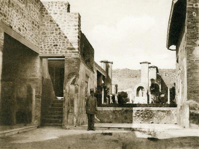 Casa Di Marco Lucrezio Fronto, Pompeii, Italy, C1900s