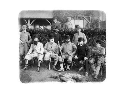 Mount Edgcumbe, Group Photo with Edward Vii, C1882