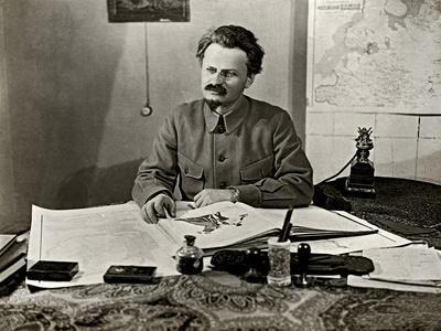 Leon Trotsky, 1922