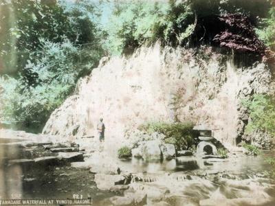 The Tamadare Falls, Yumoto, Hakone, Japan