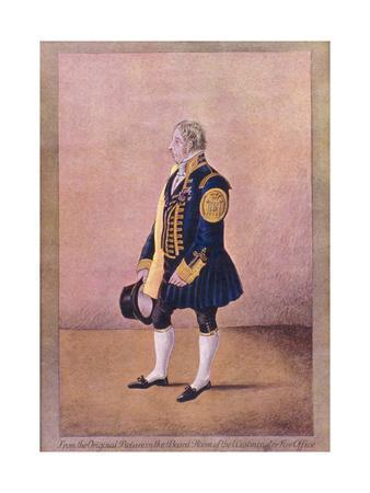 A Westminster Fireman in Uniform, C1800