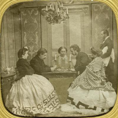 Card Game, 19th Century
