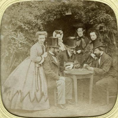 The Card Game, C1850