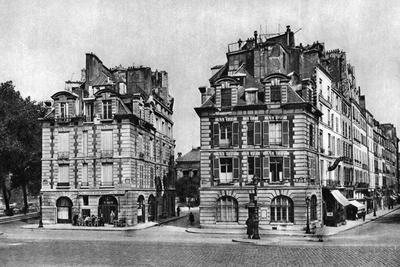 Old Houses of the Louis XIII Period, Facing the Pont Neuf, Paris, 1931