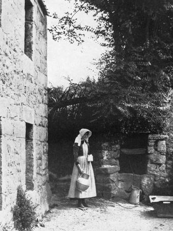Old Well, Jersey, 1924-1926