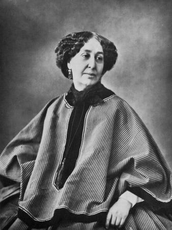 George Sand, French Author, 1864