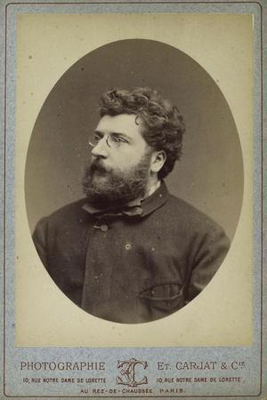 Georges Bizet, French Composer and Pianist, 1870s